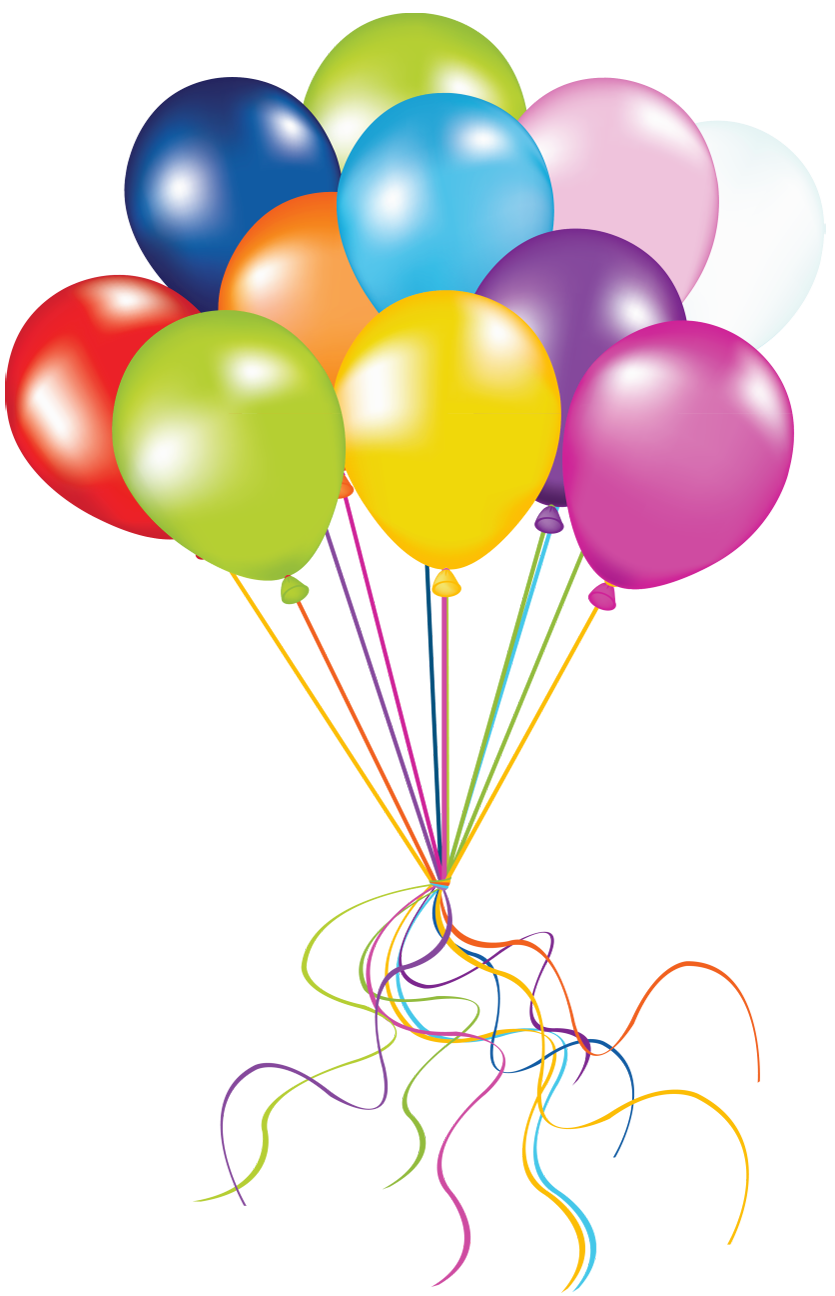 Transparent balloons png picture. Clipart balloon winter