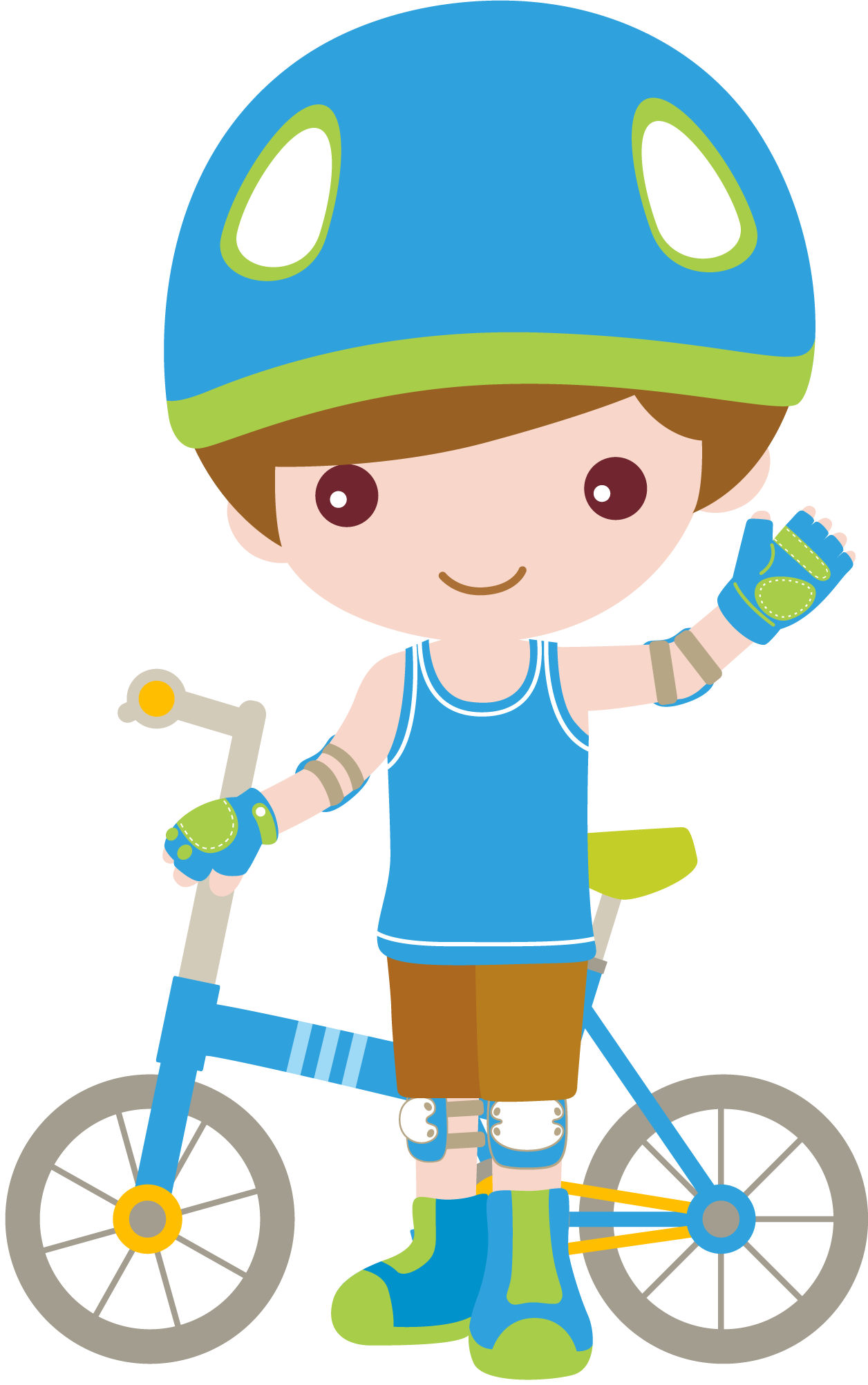 Clipart door boy. Bicicleta stikers pinterest special