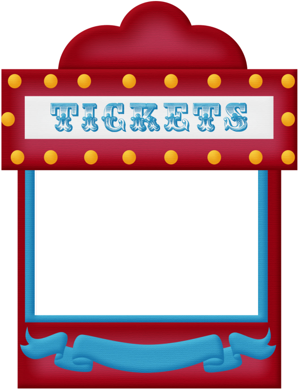 raffle clipart circus ticket