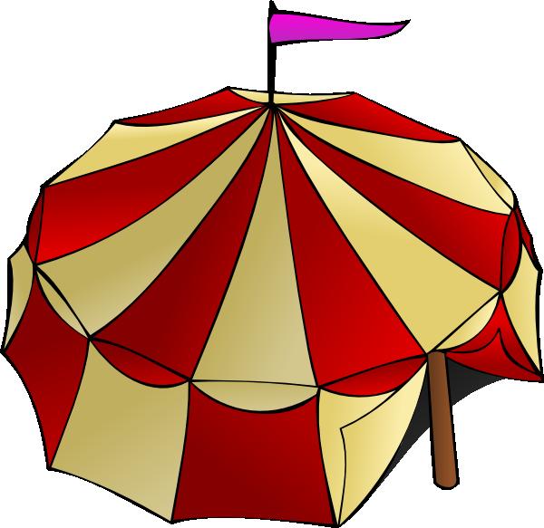 Circus clipart carnival. Tent clip art at