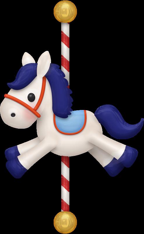 Carousel horse clip art. Horses clipart boy