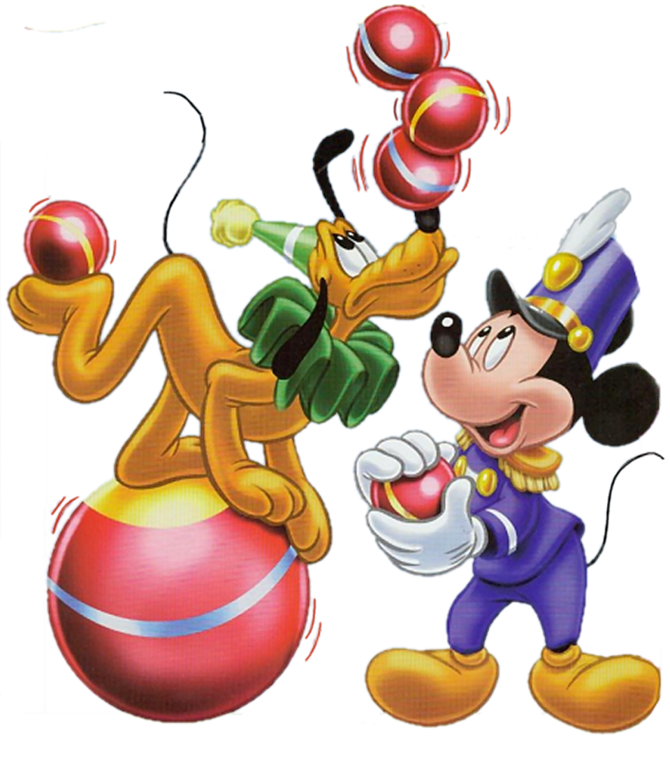 Mickey mouse pluto party. Magic clipart circus