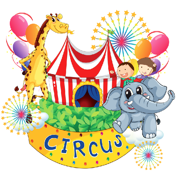 Circus clipart cartoon. Elephant picture images animal