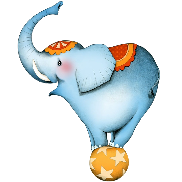 collection of circus. Clipart elephant soccer