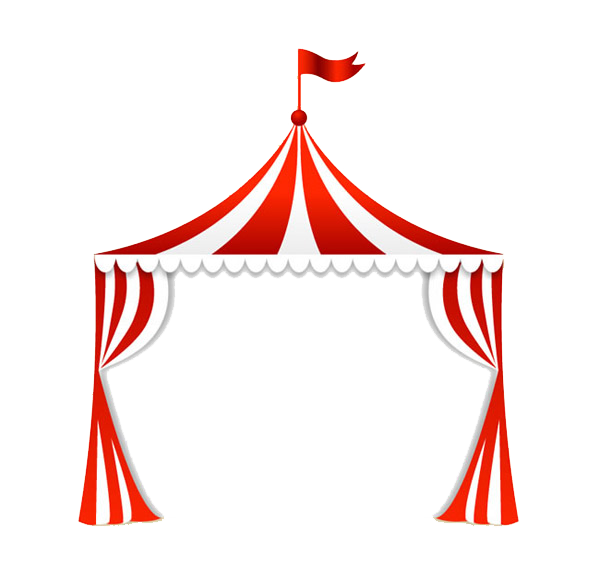Circus at getdrawings com. Clipart tent black and white