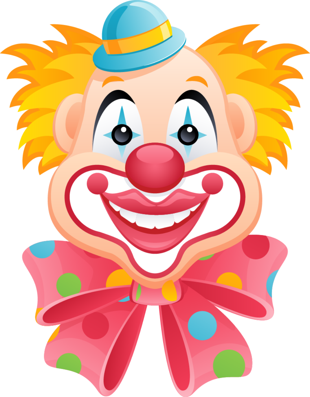 Happy clipart clown. Mis laminas para decoupage