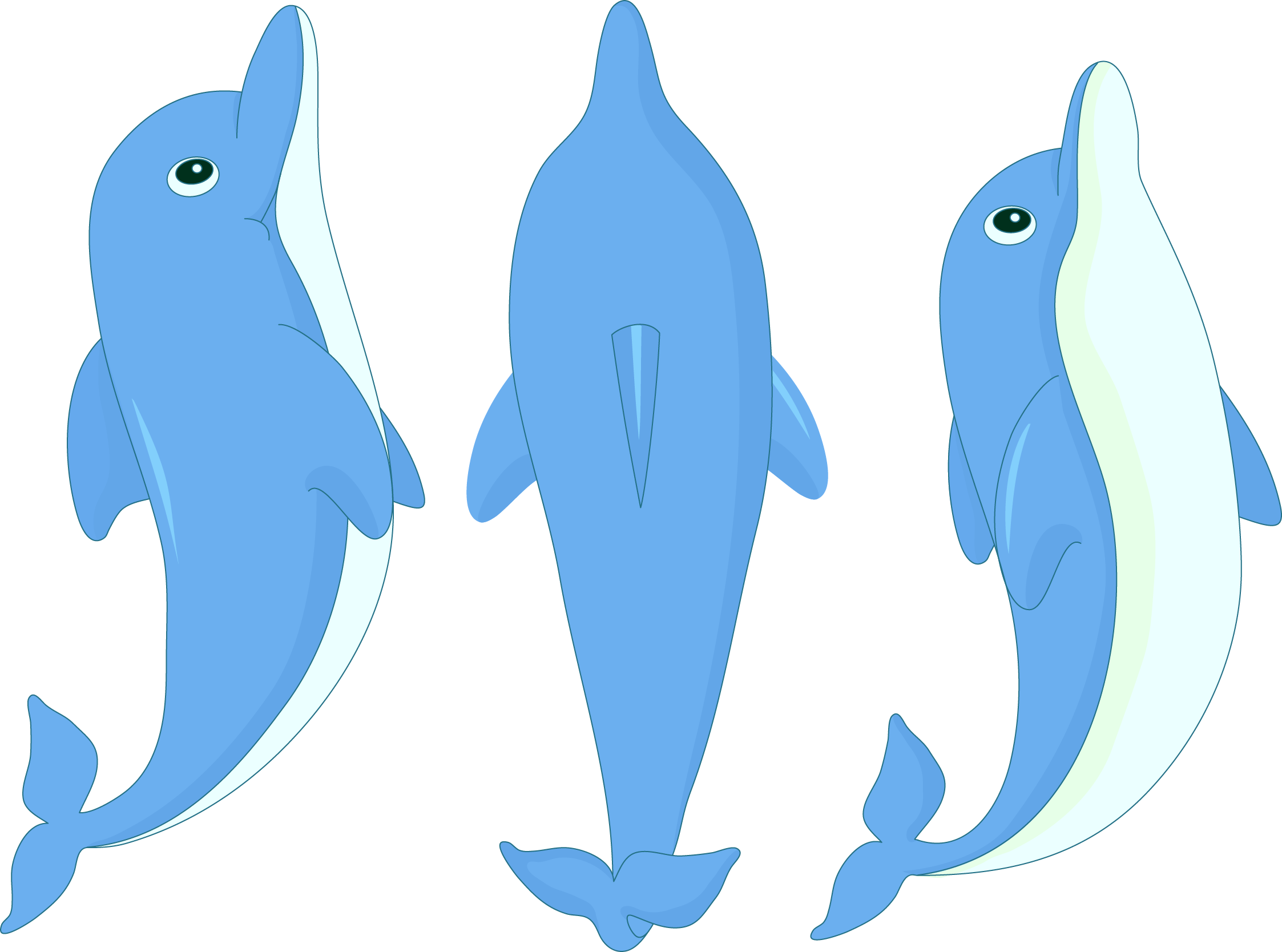 Clipart dolphin cartoon. At getdrawings com free