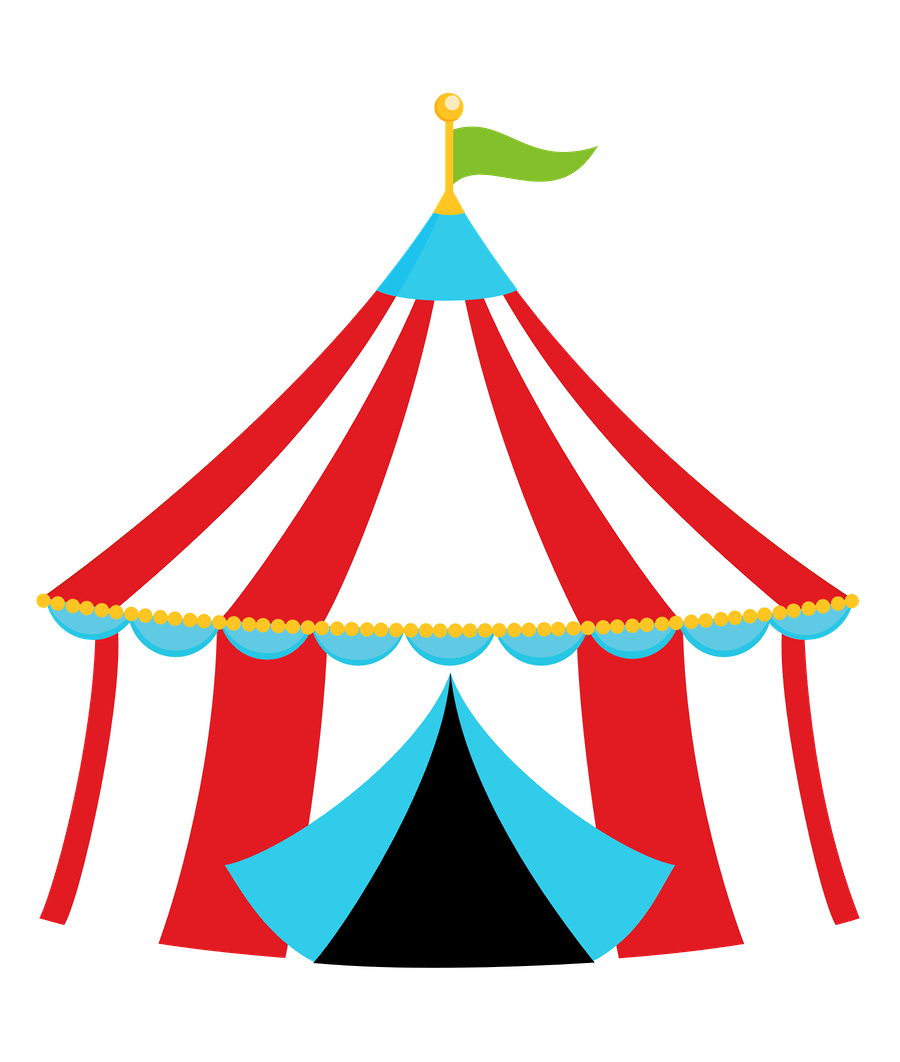 Lady clipart carnival.  collection of tent