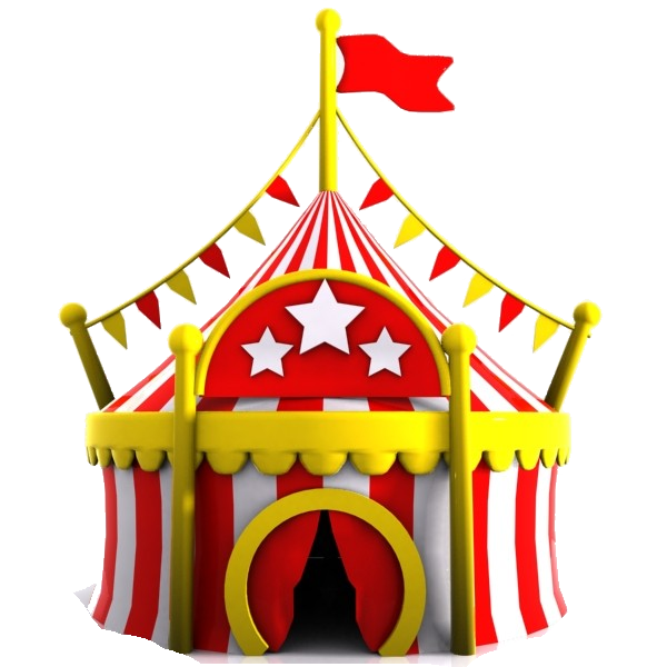 Circus event tent
