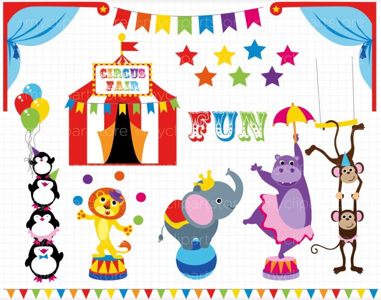 Free theme cliparts download. Circus clipart fair
