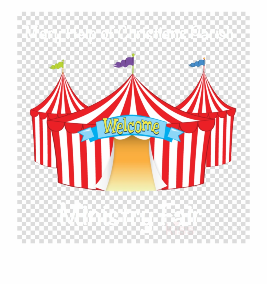 Circus clipart fair. Latest tent transparent png