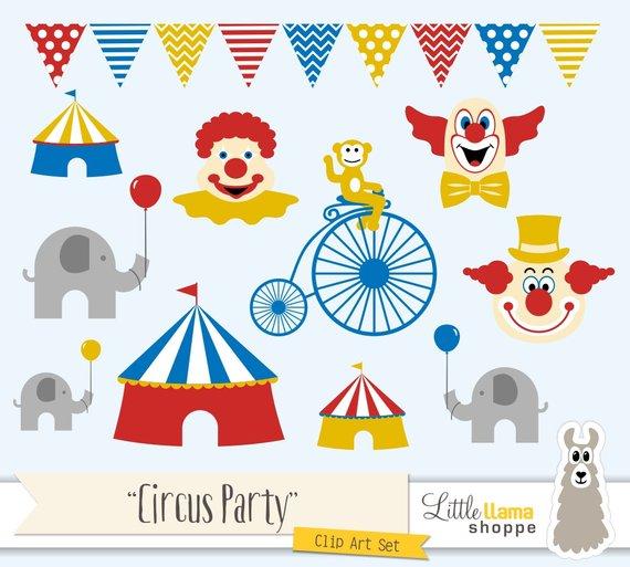 Clip art clown tent. Circus clipart fall