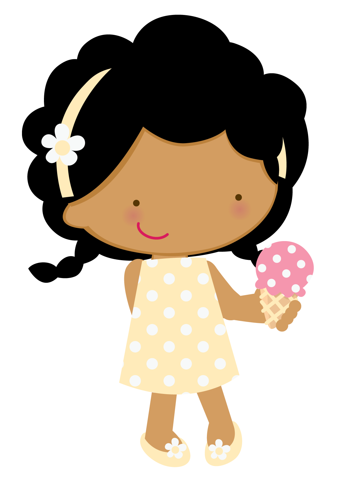 Zwd ice cream png. Lady clipart construction