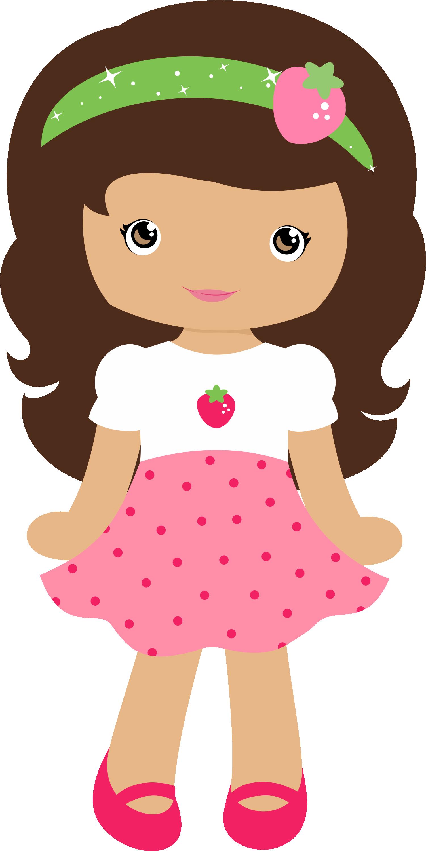 Moranguinho grafos strawberrygirl png. Fever clipart female patient