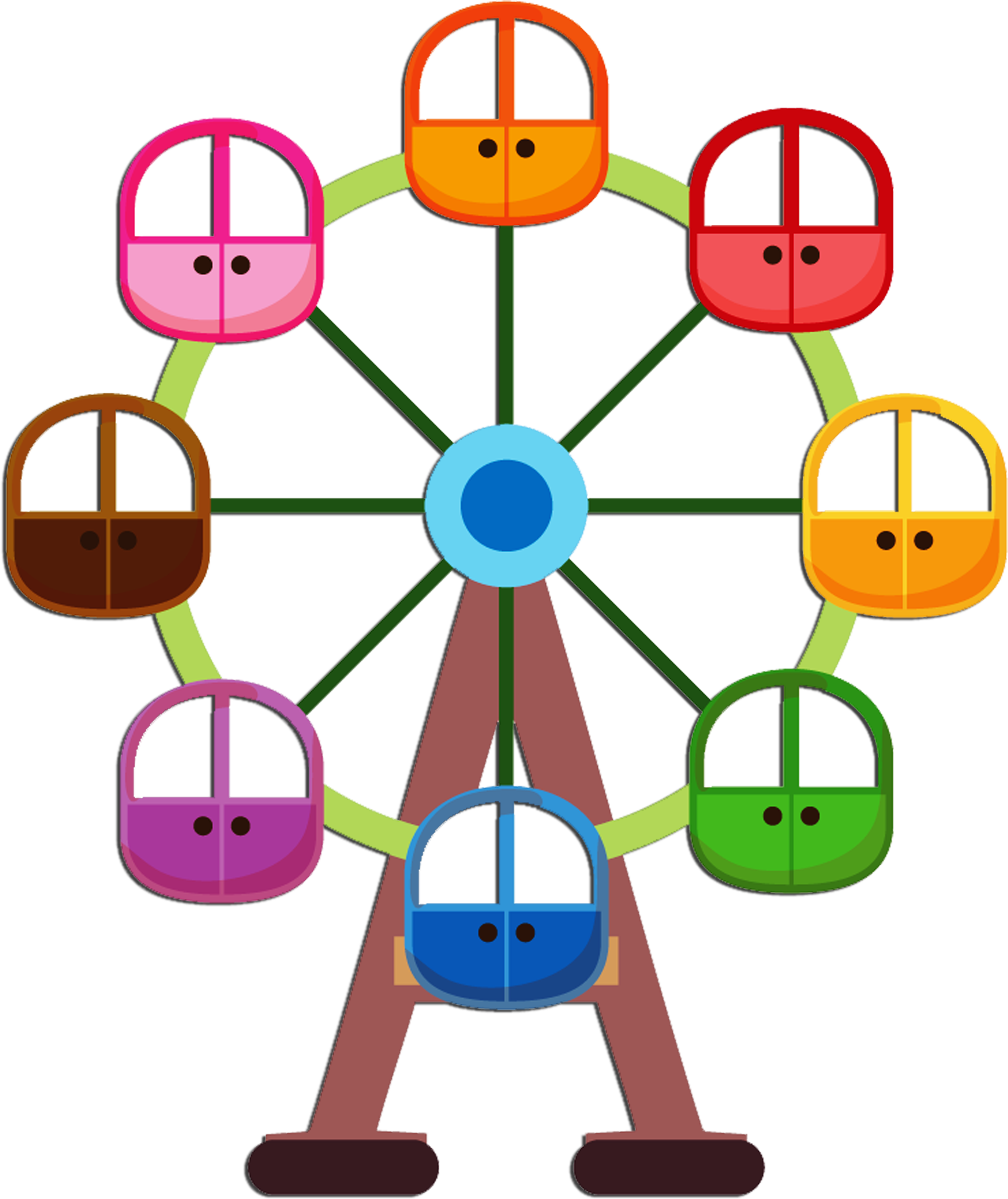 Wheel clipart cute. Circo palha o e