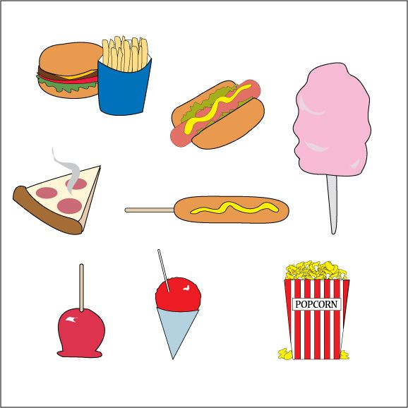 Free cliparts download clip. Circus clipart food