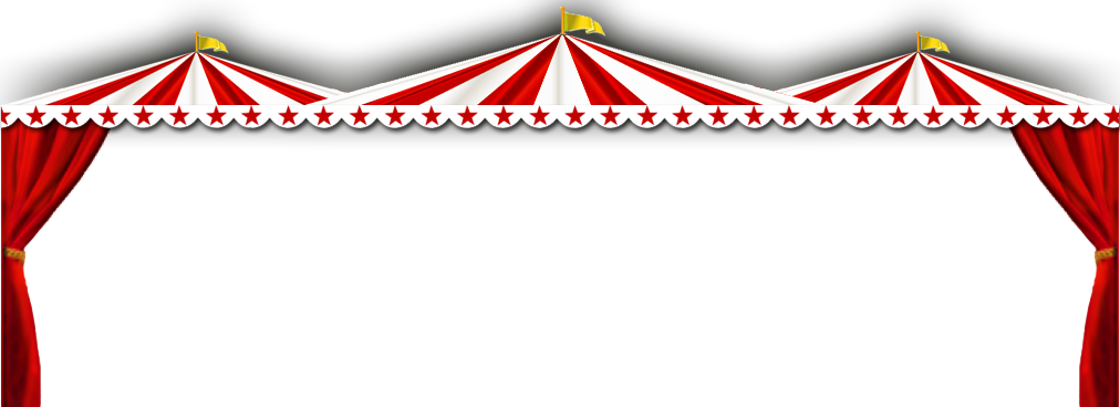 Circus pencil and in. Pie clipart border