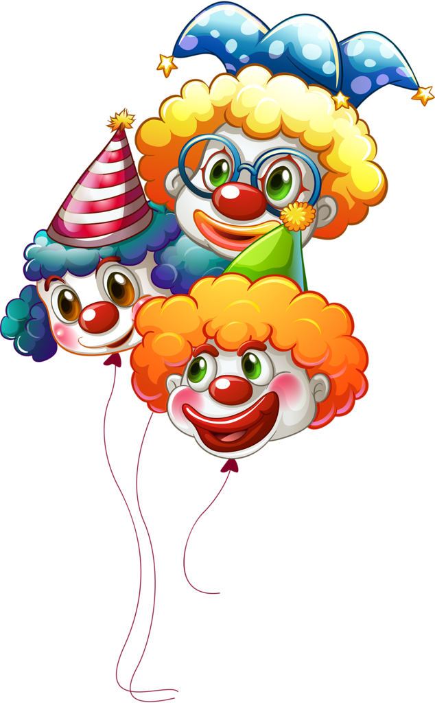 Costume clipart clown. Happy clip art illustration