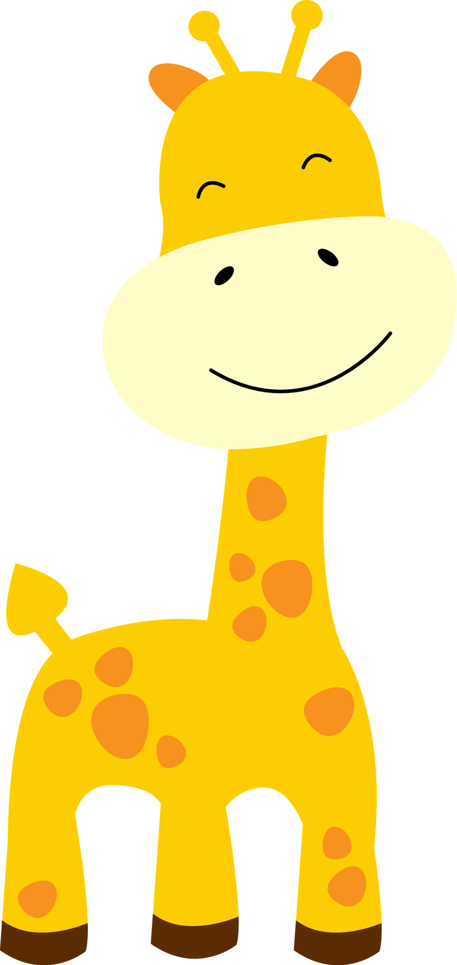 giraffes g pinterest. Tree clipart baby shower
