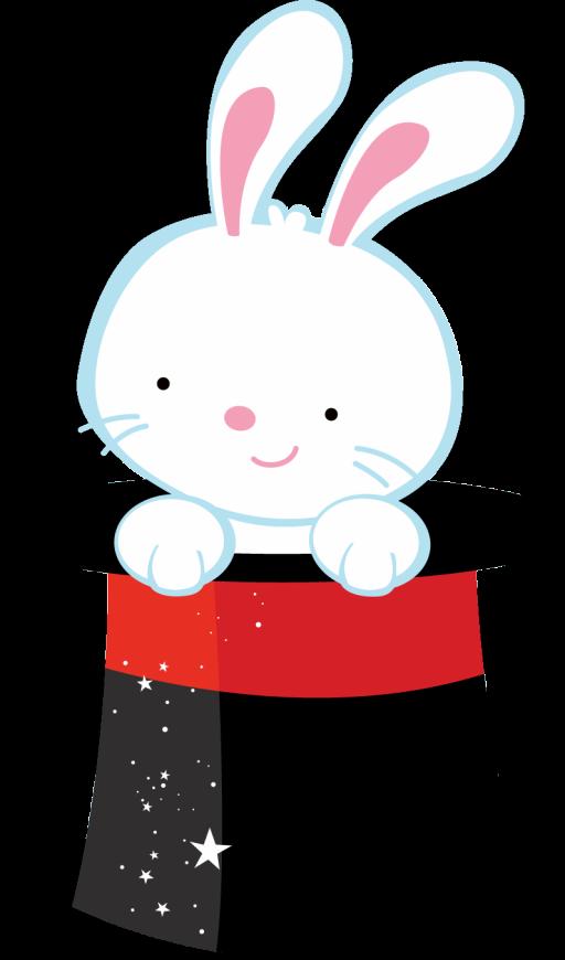 Magic clipart circus. Zwd hat rabbit png