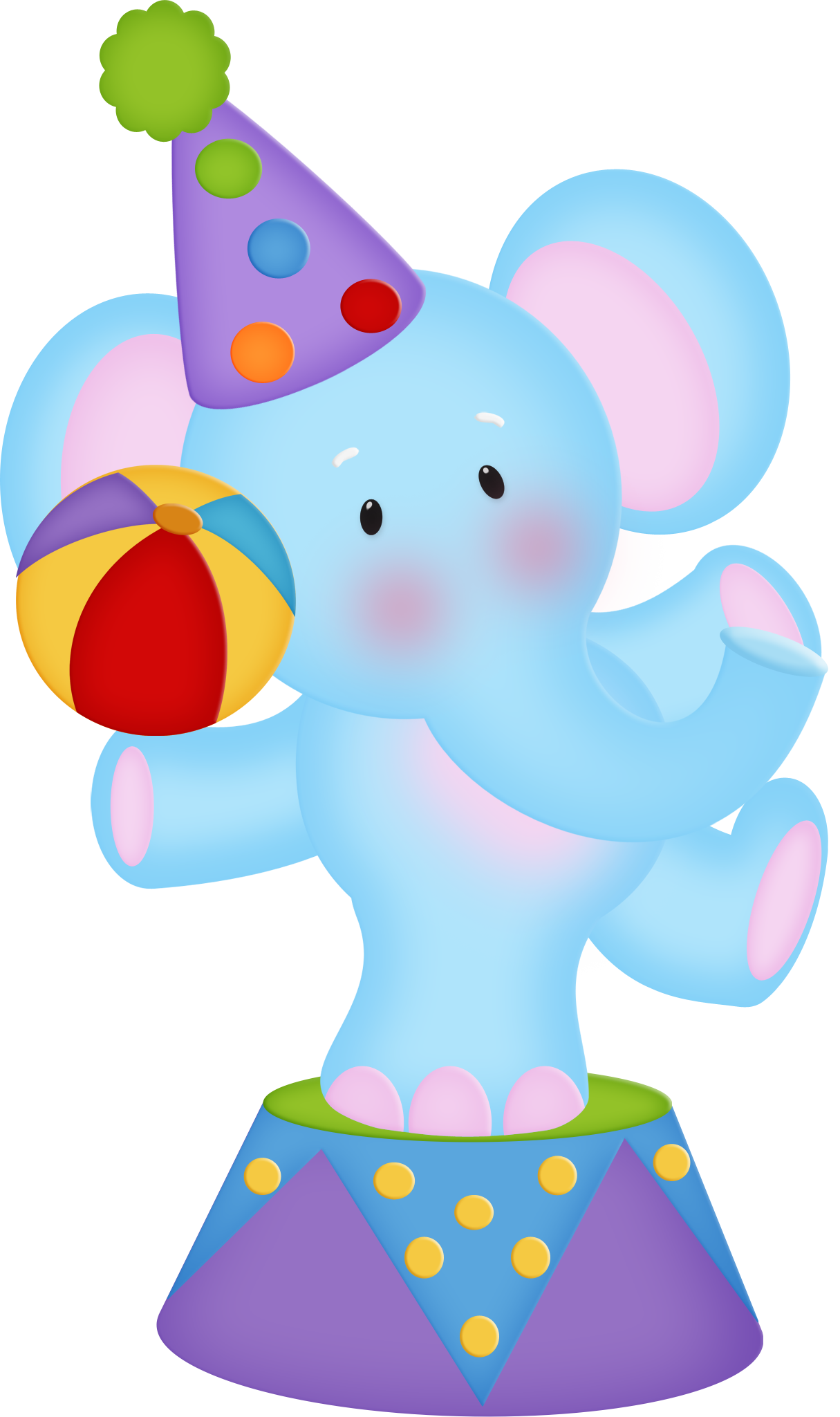 Circus elephant clip art. Strawberries clipart upo