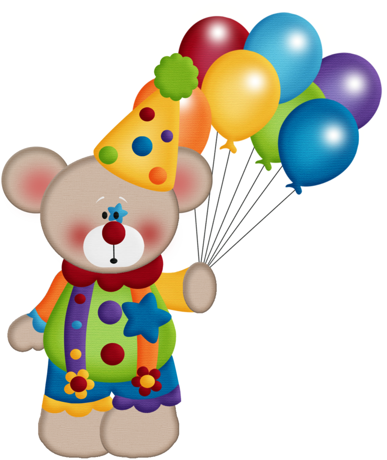 Circo aw bear png. Clipart rainbow circus