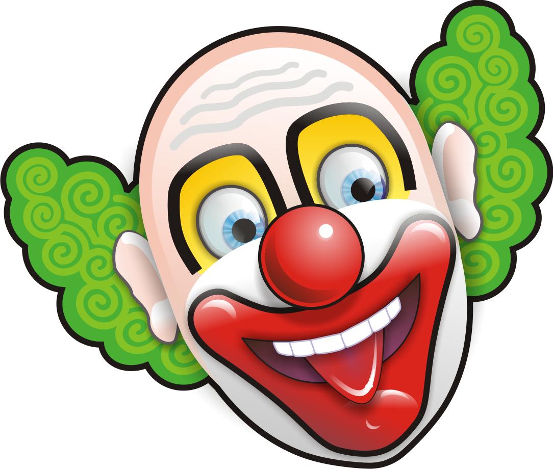 Circus joker face png. Hands clipart clown