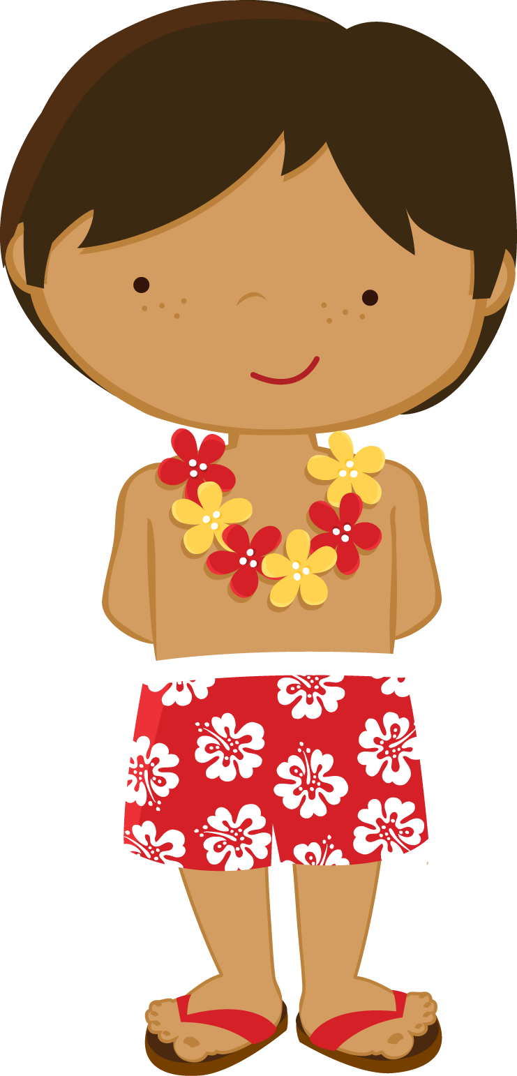 Zwd yellow hibiscus luau. Yearbook clipart fun times