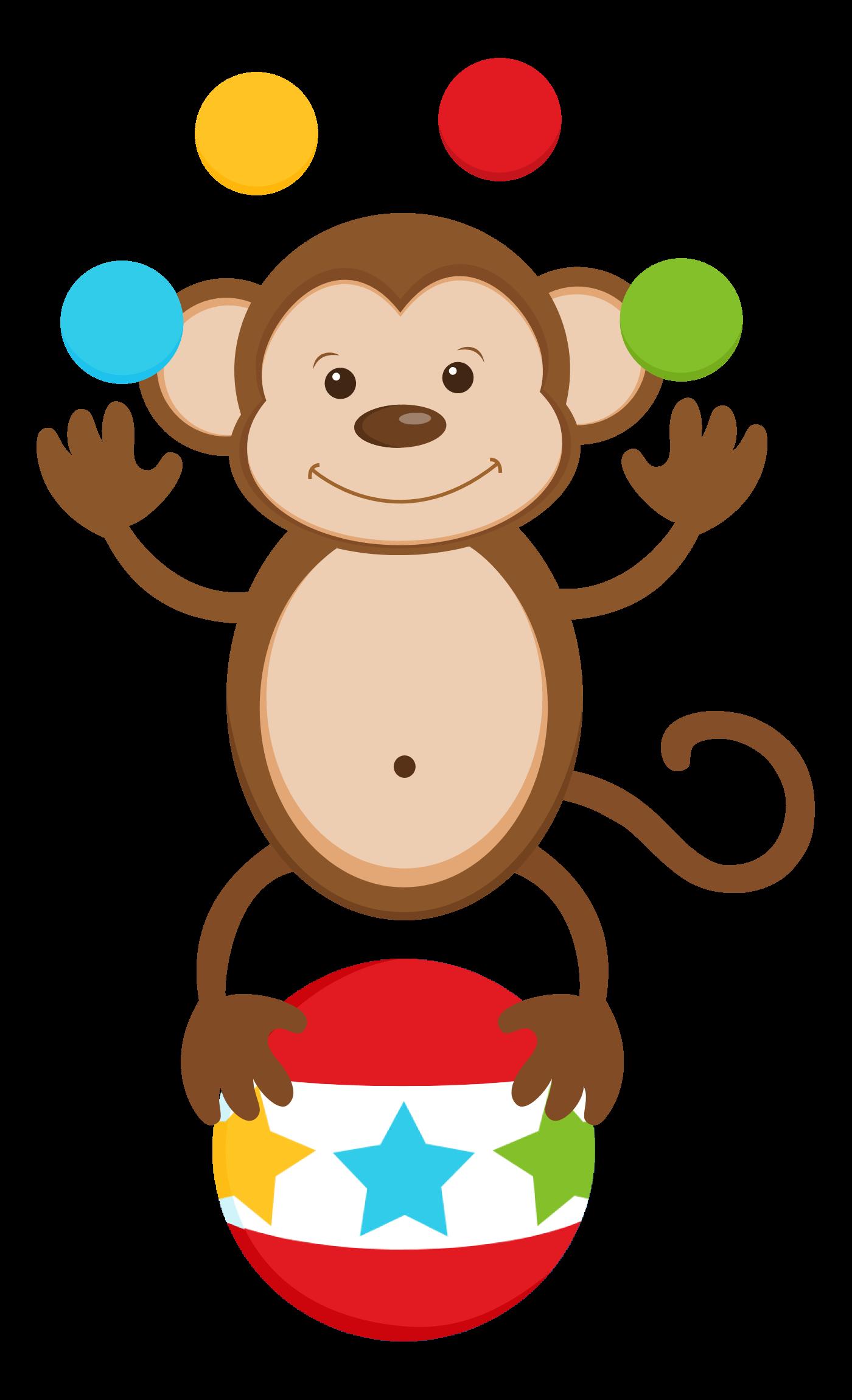 monkey clipart vintage