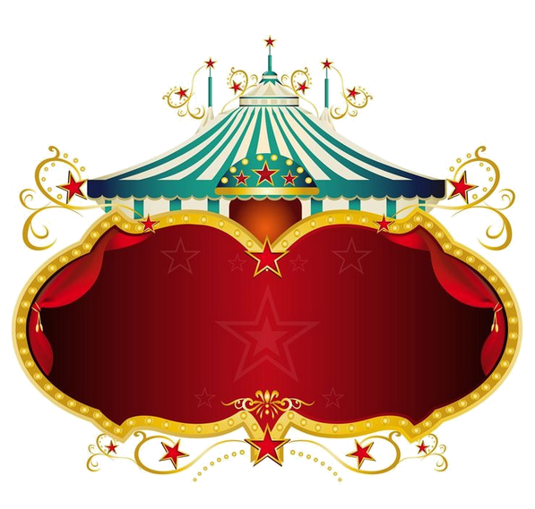 Pin by f on. Circus clipart label