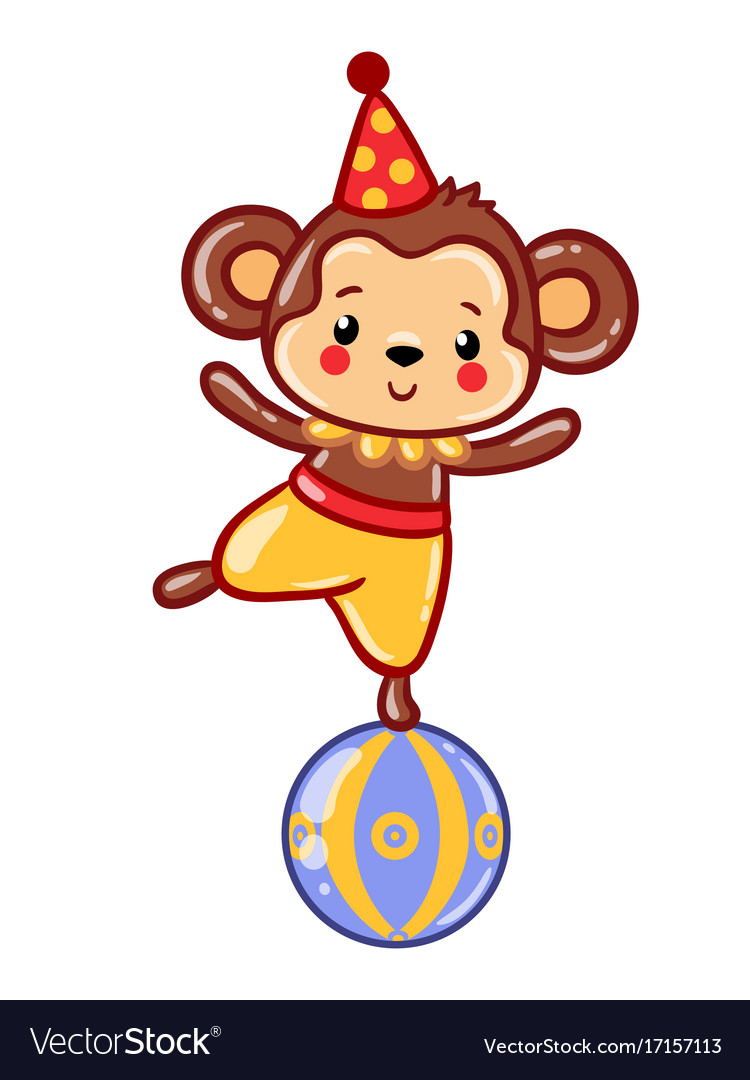 Station . Circus clipart monkey