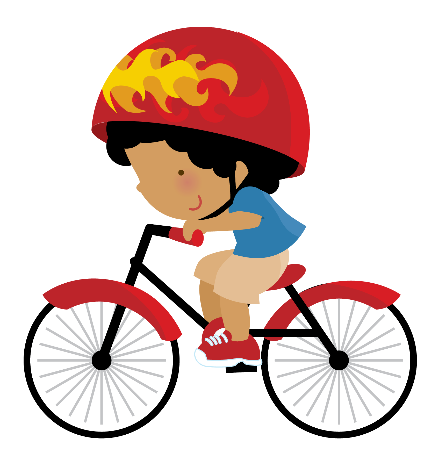 Pin by adri machado. Family clipart bicycle