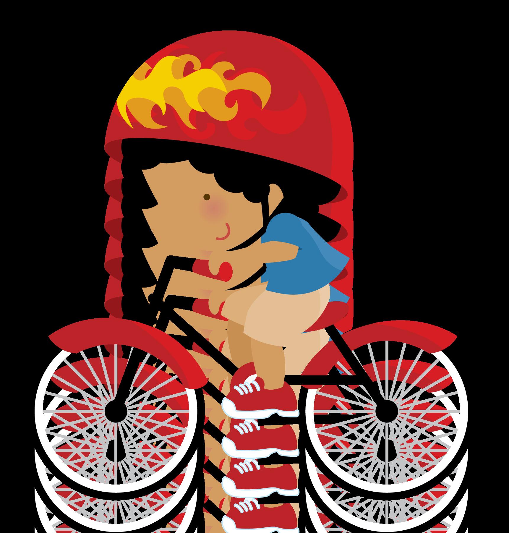 Pin by adri machado. Clipart bicycle spring