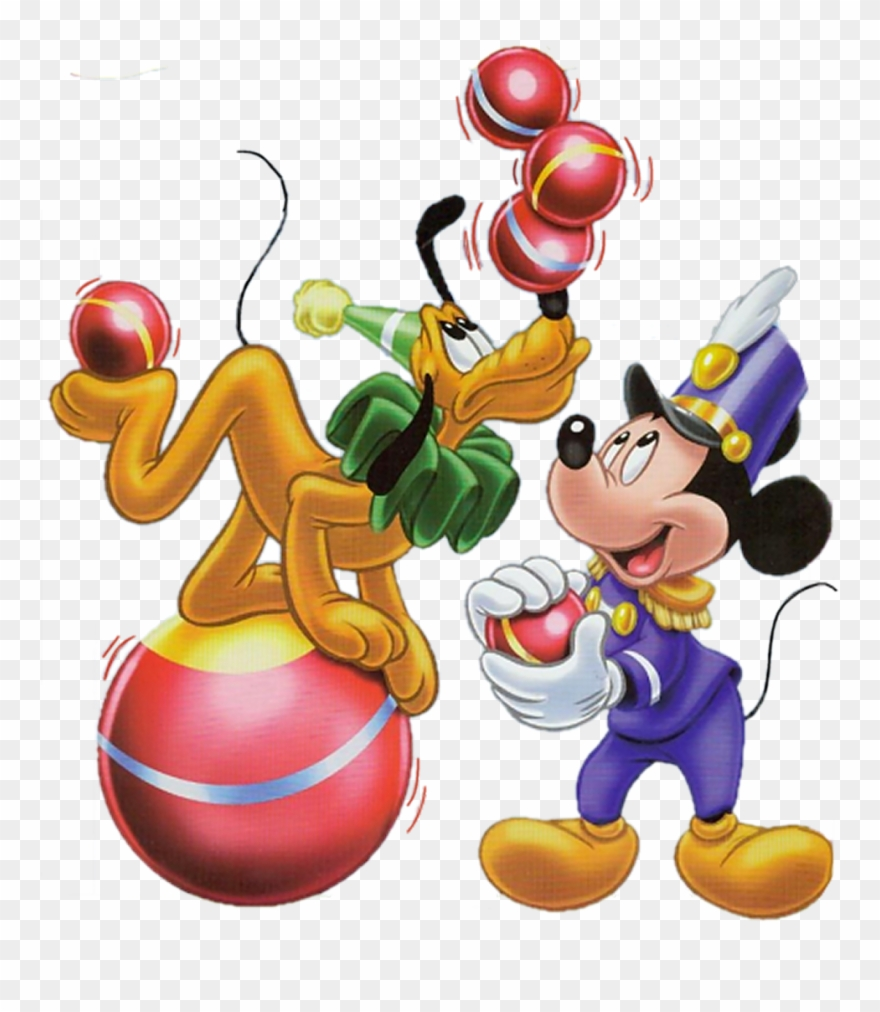 Mickey pluto disney png. Circus clipart mouse