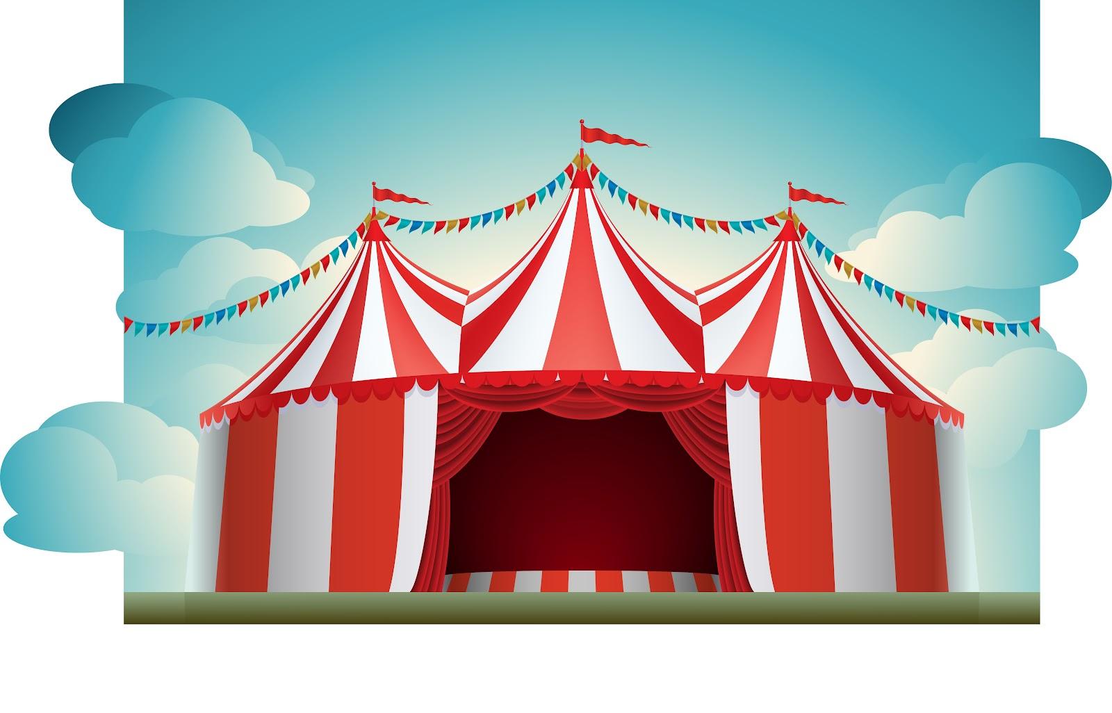Circus clipart party tent. Free pics download clip