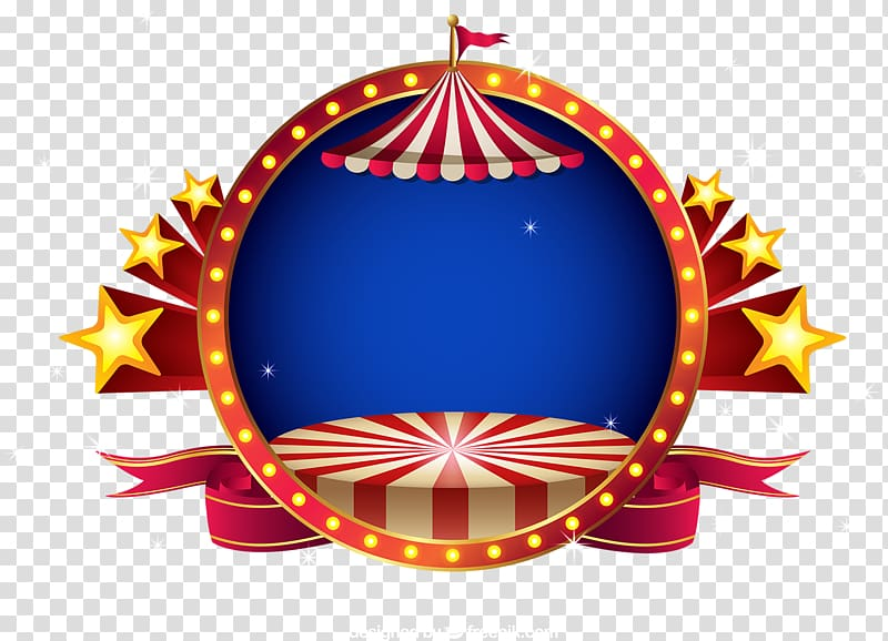 Circus clipart platform. Brown and red carnival