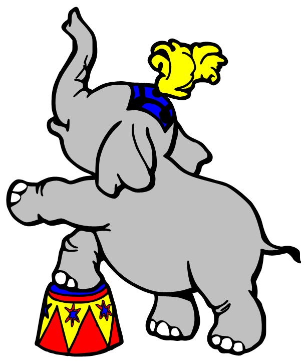 collection of free. Circus clipart platform