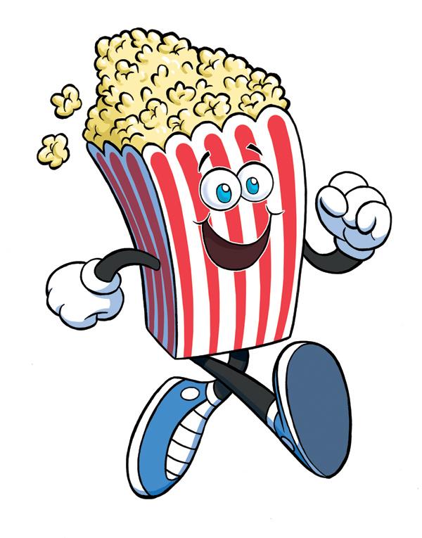 Movie clipart bowl popcorn. Drawing at getdrawings com