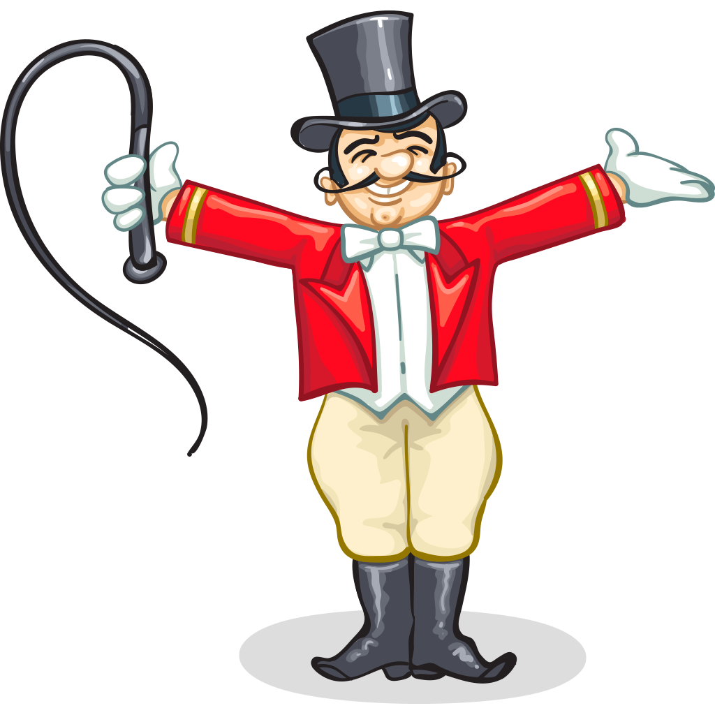 Images of ringleader spacehero. Whip clipart circus ringmaster
