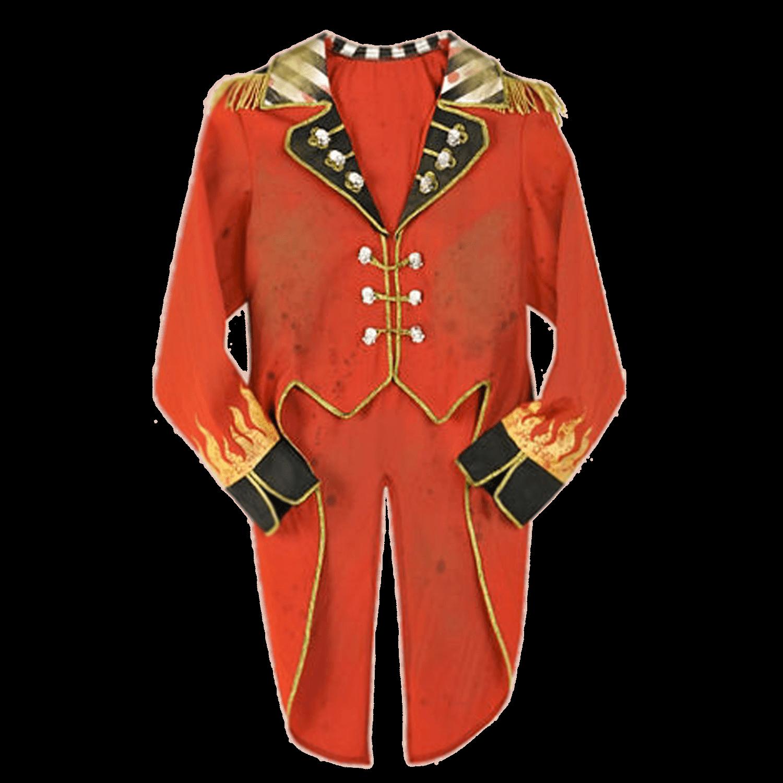 Suit clipart suit vest. Circus ringmaster costume transparent