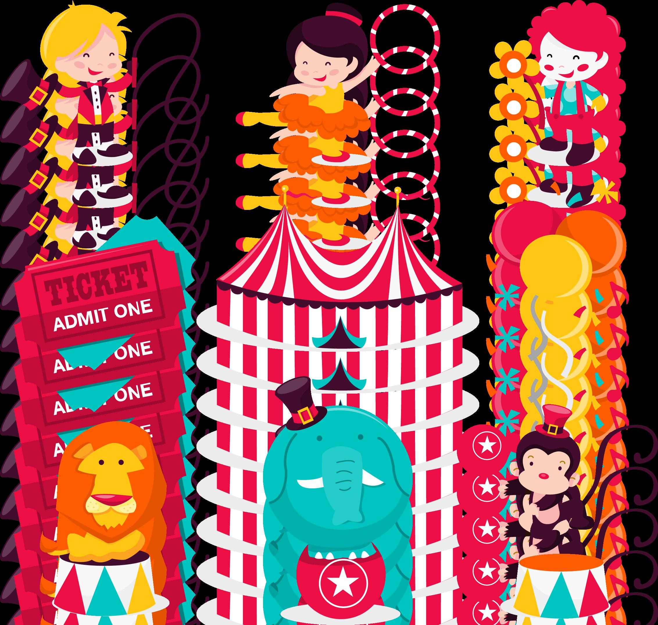Light clipart circus, Light circus Transparent FREE for ...