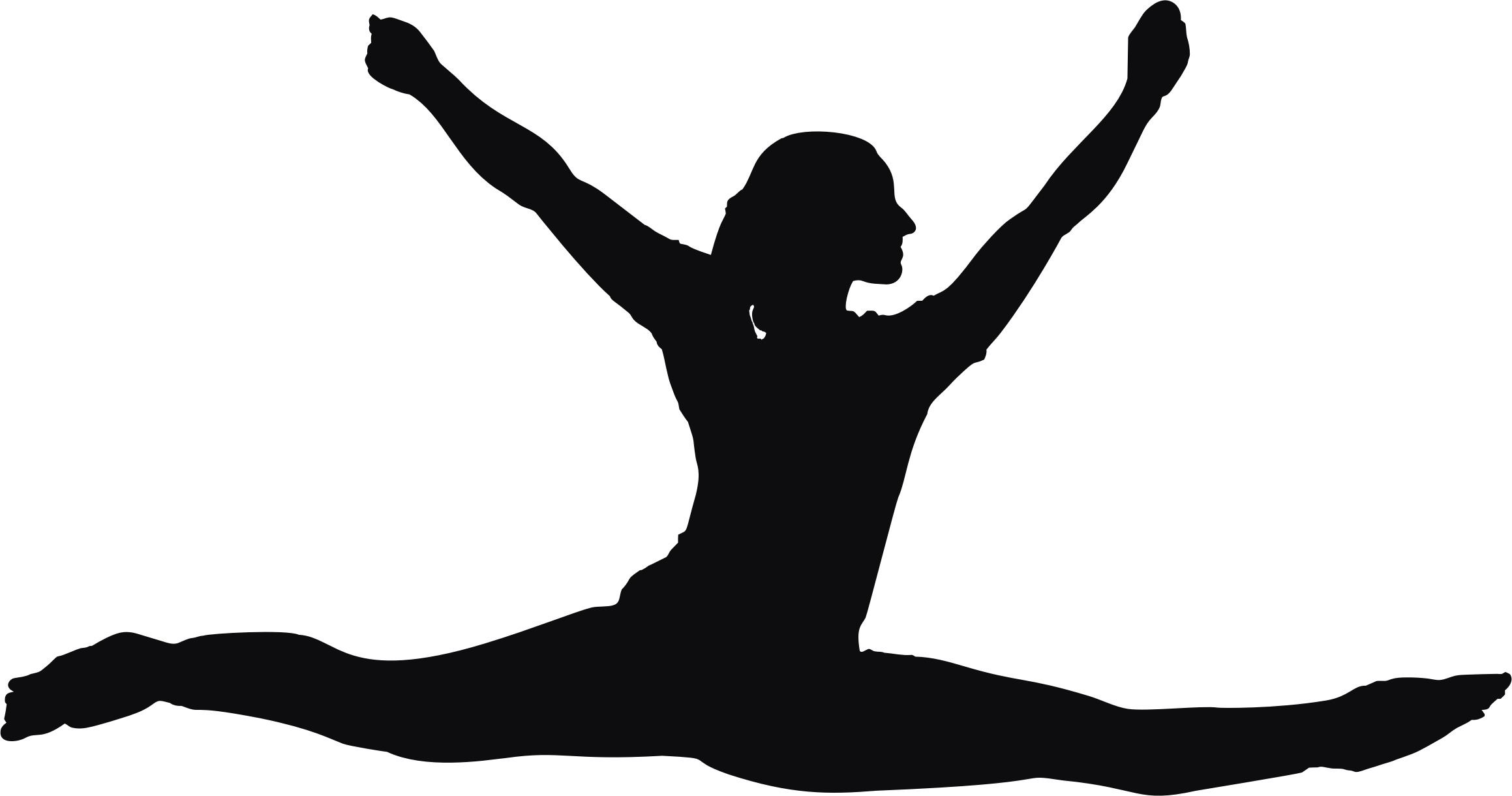 Circus clipart silhouette. Performer at getdrawings com