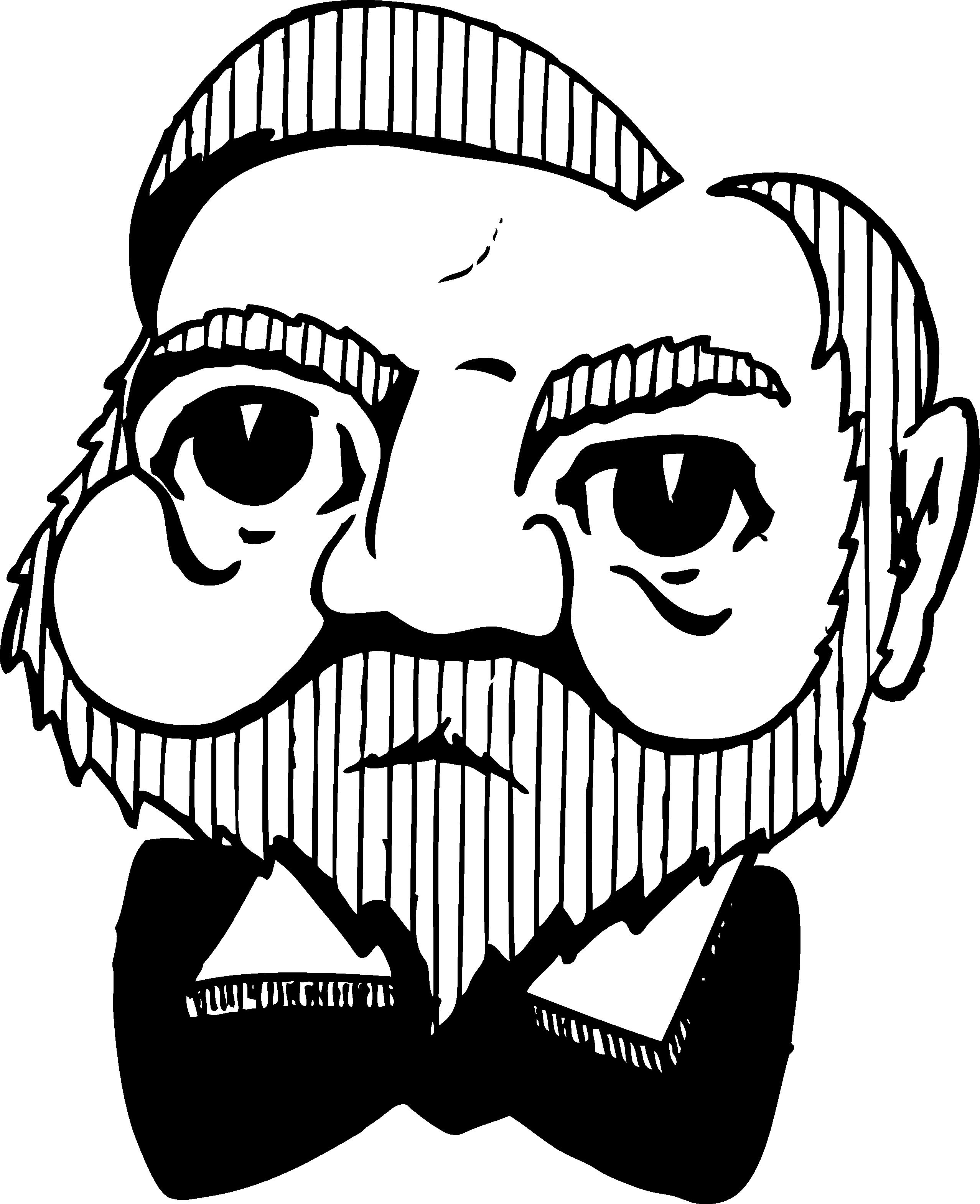 Daredevil desktop backgrounds clip. Moustache clipart animated