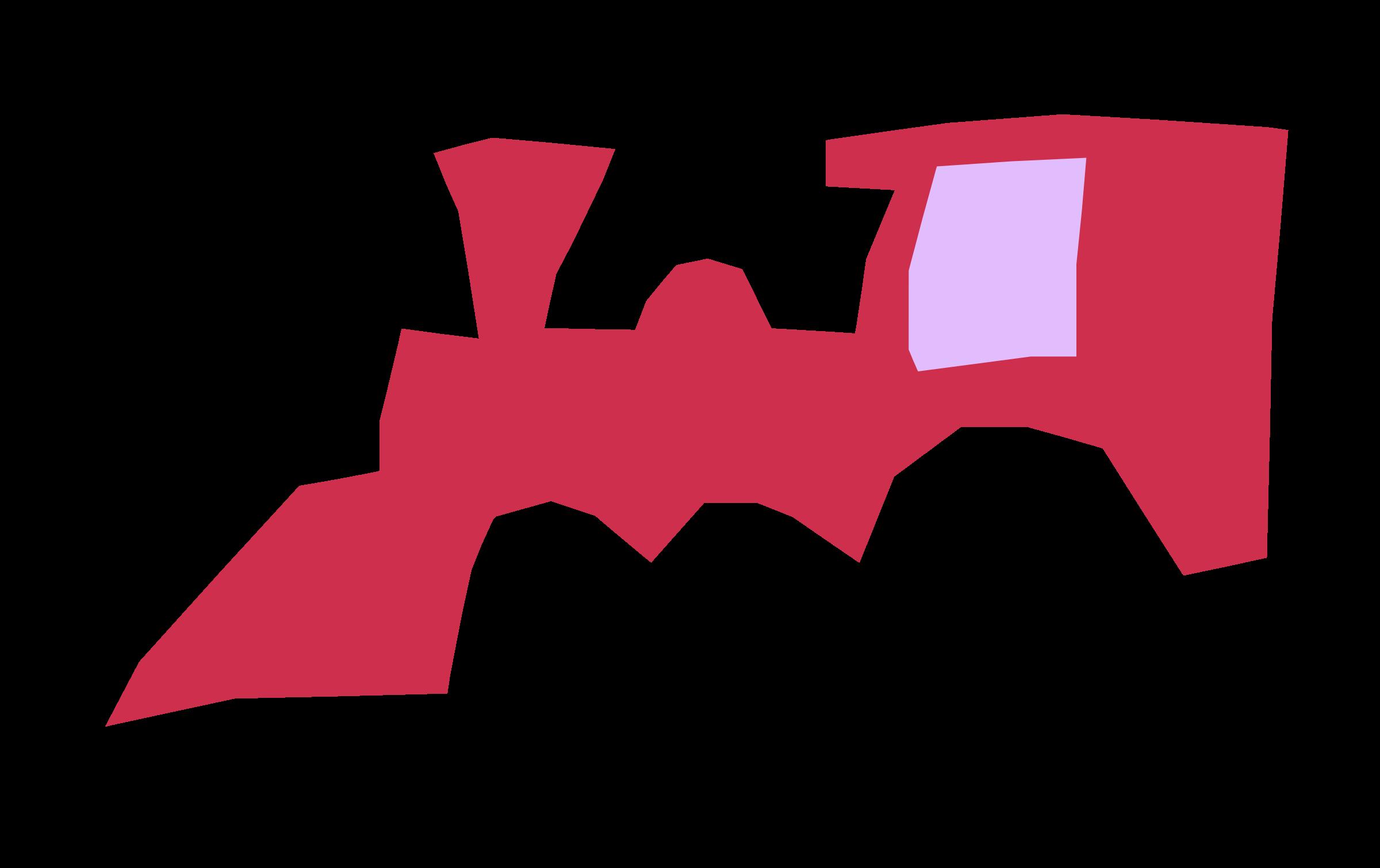 Clipart train red.  cartoon graphic