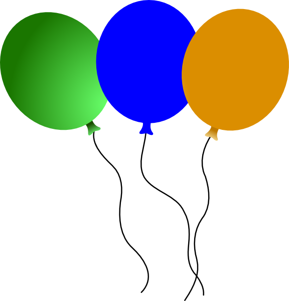 Balloons clip art at. Clipart balloon circus