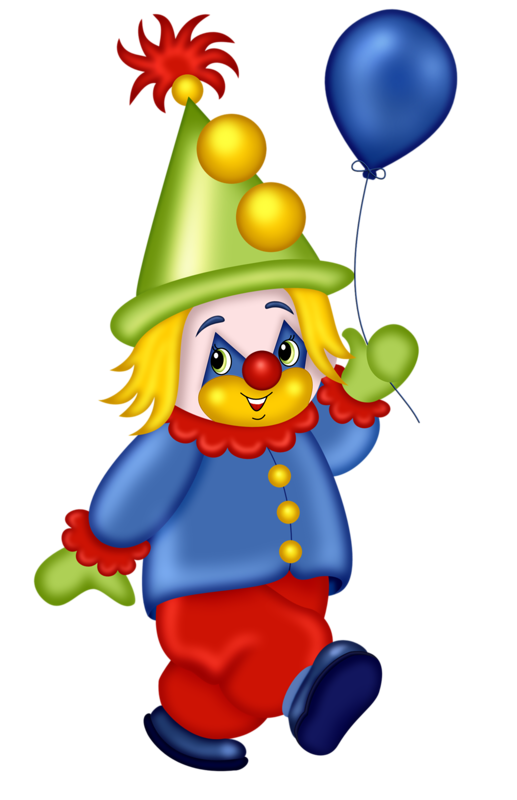 Cute clown theme pictures. Lights clipart circus