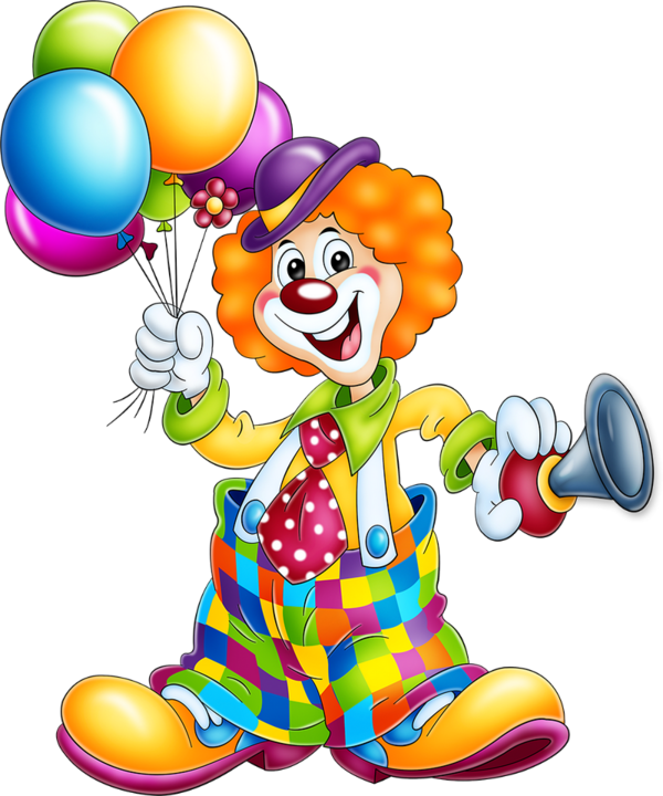 Happy clipart clown. Tubes pinterest clip art