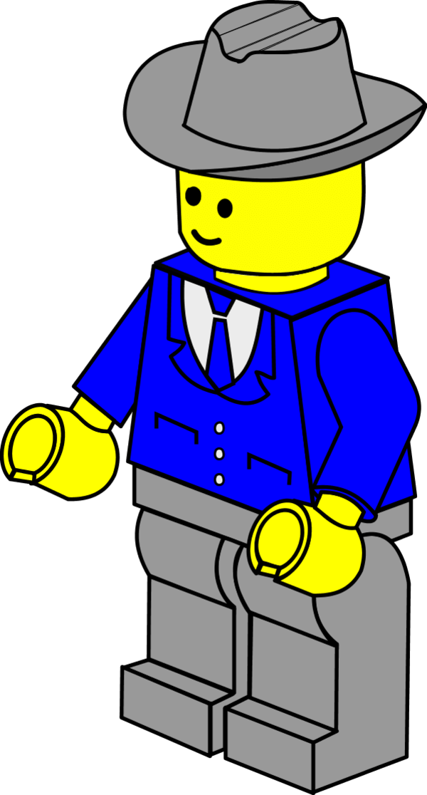 Lego person at getdrawings. Girls clipart construction worker