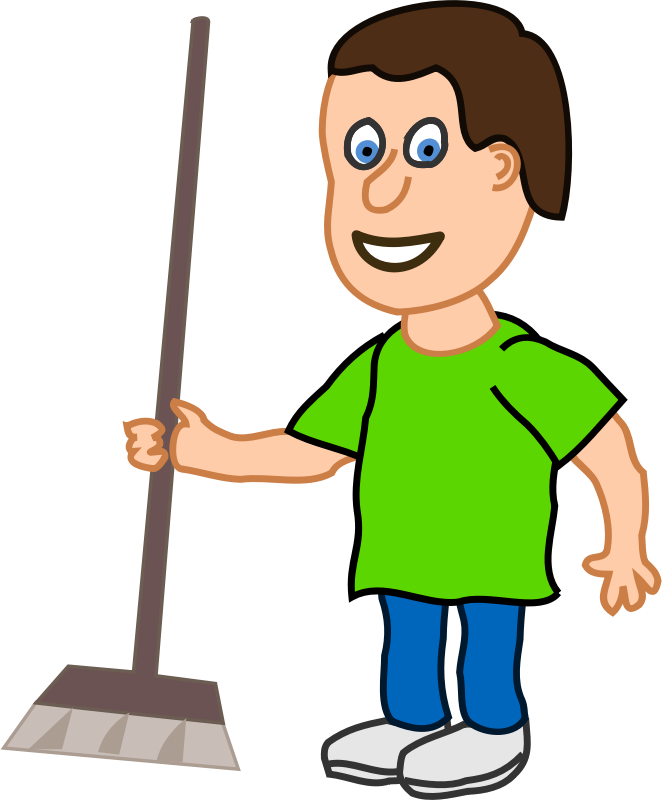 People clipart cleaning. Image for cleaner clip