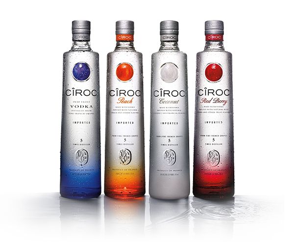 Ciroc bottle png. Vodka in review of